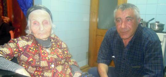 97 წლის ვარა სააკაშვილი