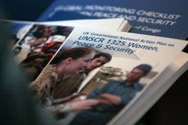 რეზოლუცია1325: ქალები, მშვიდობა და უსაფრთხოება