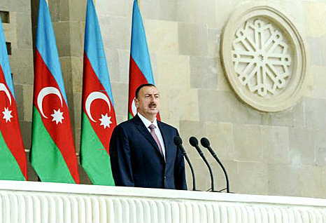 აზერბაიჯანის პრეზიდენტი ილჰამ ალიევი