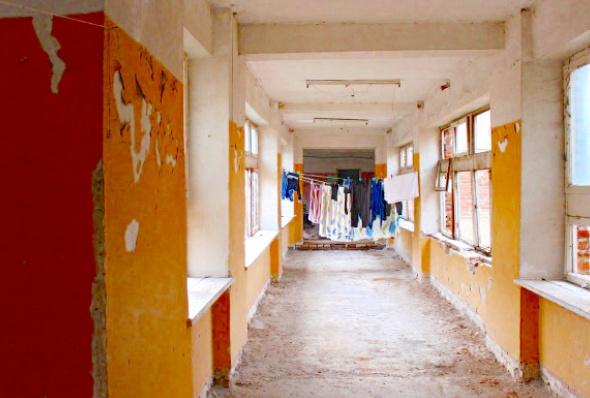 საბავშვო ბაღი სადაც ცხოვრობენ დევნილები