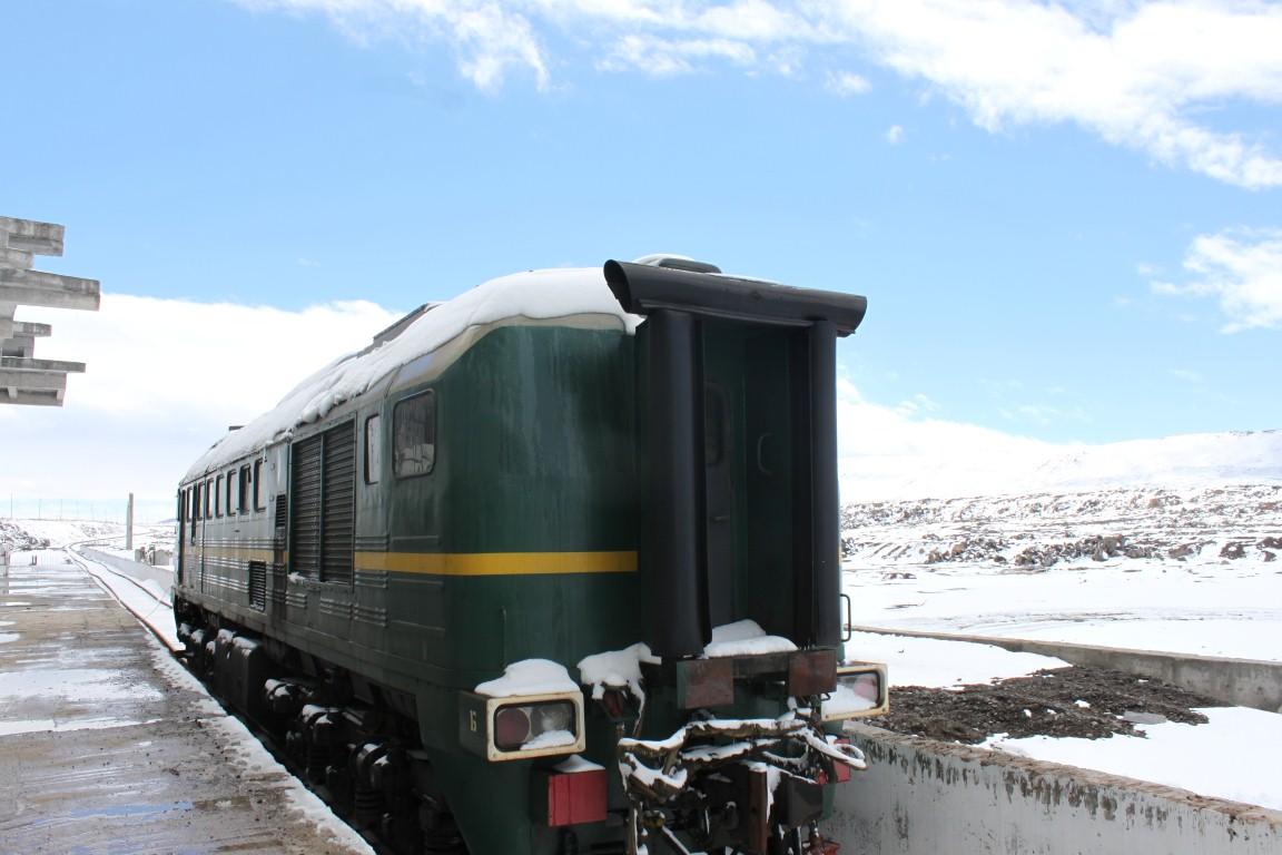 ახალქალაქის სარკინიგზო მონაკვეთის სატესტო მატარებელი