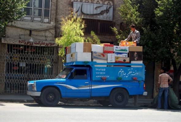 ვაჭრები ირანში
