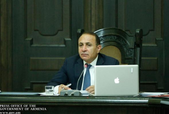 სომხეთის პრემიერ-მინისტრი ჰოვიკ აბრაჰამიანი
