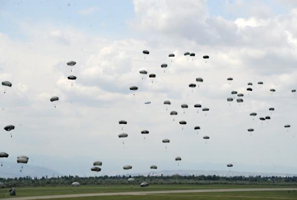 """ერთობლივი სამხედრო სწავლება """"ღირსეული პარტნიორი 2016"""""""
