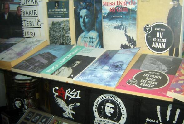 ეთნიკურად სომეხი ავტორების დაწერილი წიგნები სტამბოლში, თურქეთი