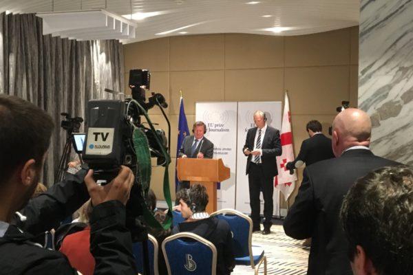 ევროკავშირის პრიზი ჟურნალისტიკაში 2017 გახსნილად გამოცხადდა
